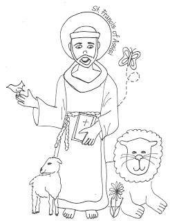 246x320 Look To Him And Be Radiant Saints Coloring Pages St Francis