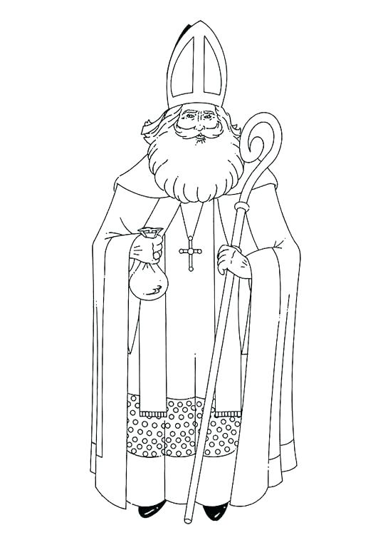 531x750 St Nicholas Coloring Pages St Coloring Page Related Post St