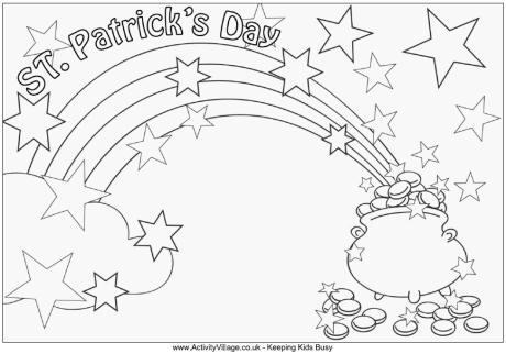 Saint Patrick Coloring Page At Getdrawings Free Download