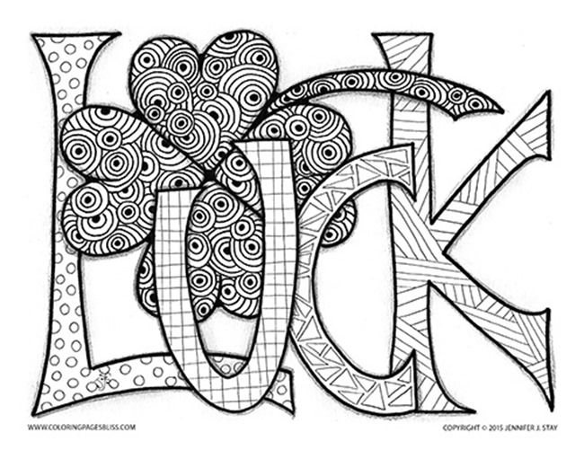 Saint Patrick Day Coloring Pages To Print