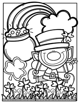 photograph about Free Printable Clipart for St Patrick's Day called Rv Coloring Webpages at  Totally free for individual retain the services of