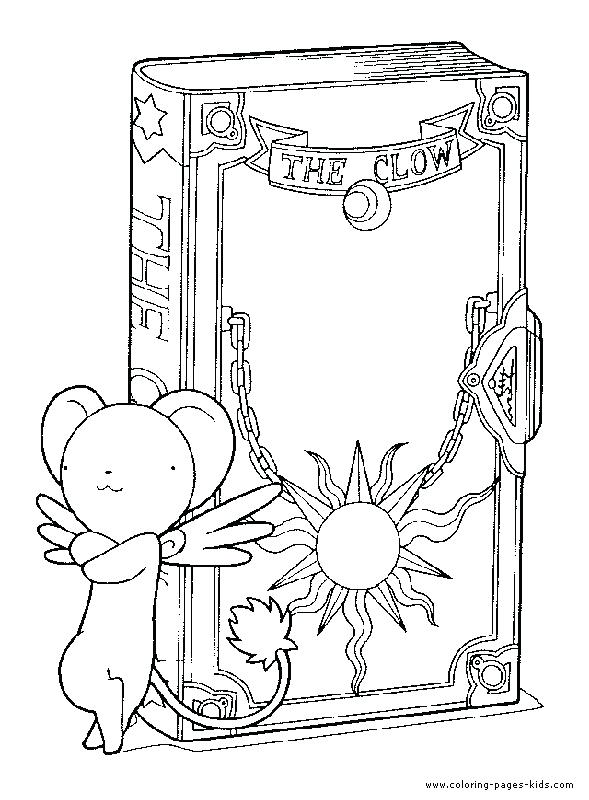 589x800 Cardcaptor Sakura Colouring Pages Best Coloring Ccs Images