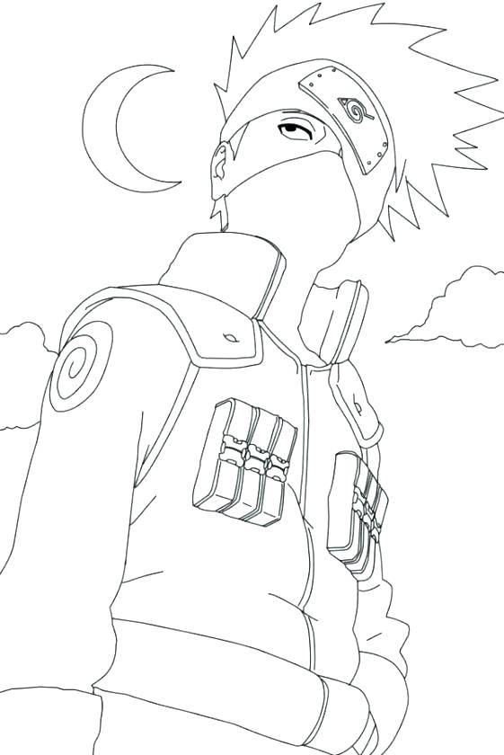 561x840 Sakura Coloring Pages Naruto Printable In Funny Here Are Print
