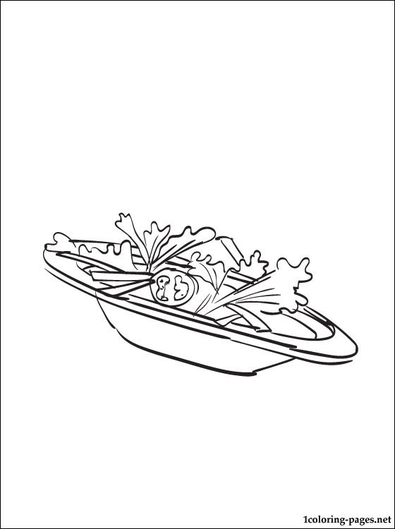 560x750 Salad Coloring Page Coloring Pages