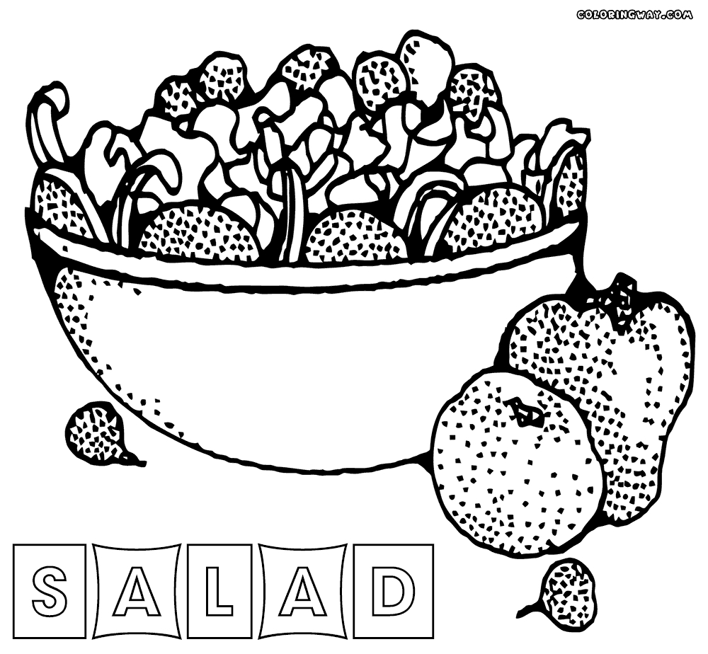 1000x924 Awesome Fruit Salad Coloring Pages Design Printable Coloring Sheet
