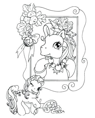 372x461 Salvador Dali Coloring Pages Picture Of Pony In Frame Coloring