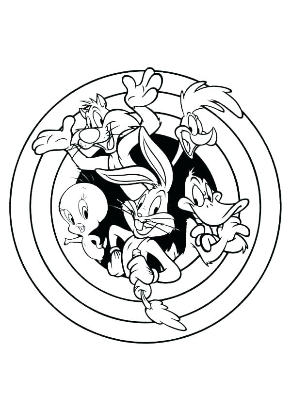 600x849 Beautiful Space Jam Coloring Pages Crest Ways To Use Coloring