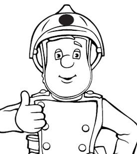 275x310 Fireman Sam Coloring Pages Coloringpagehub