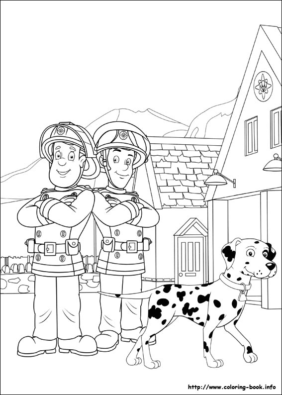 567x794 Fireman Sam Coloring Pages Fireman Sam Coloring Pages On Coloring