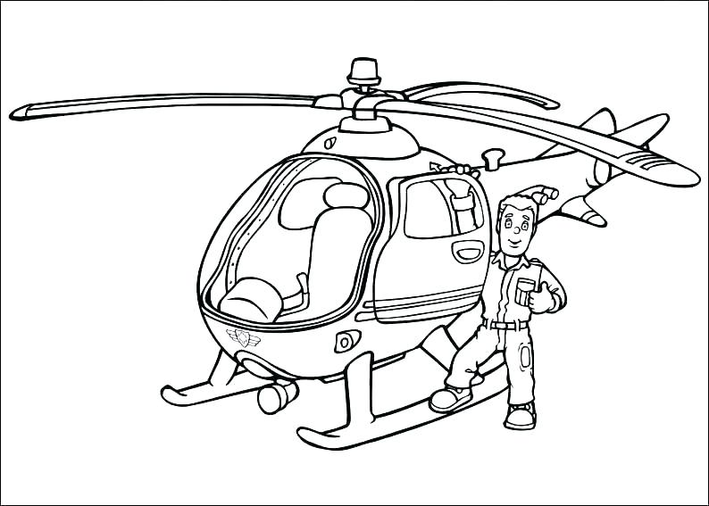 794x567 Fireman Coloring Pages Beautiful Fireman Coloring Pages Image