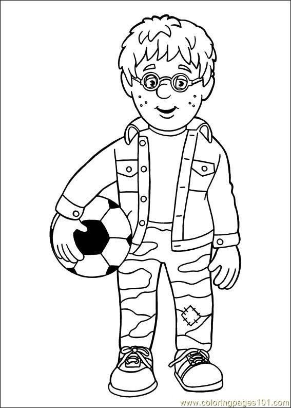 567x794 Fireman Sam Coloring Pages