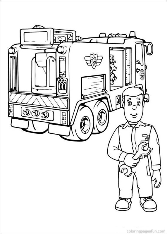 571x800 Fireman Sam Coloring Pages Abc