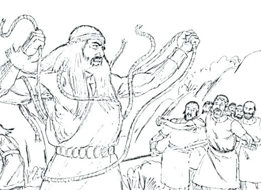 Samson Coloring Pages For Preschoolers at GetDrawings.com | Free for ...