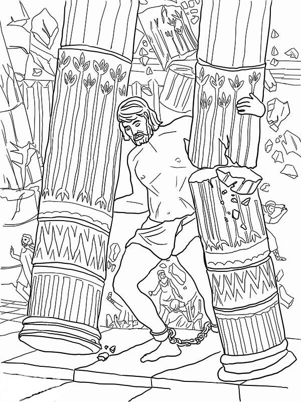 Samson Coloring Pages Free at GetDrawings.com | Free for personal ...