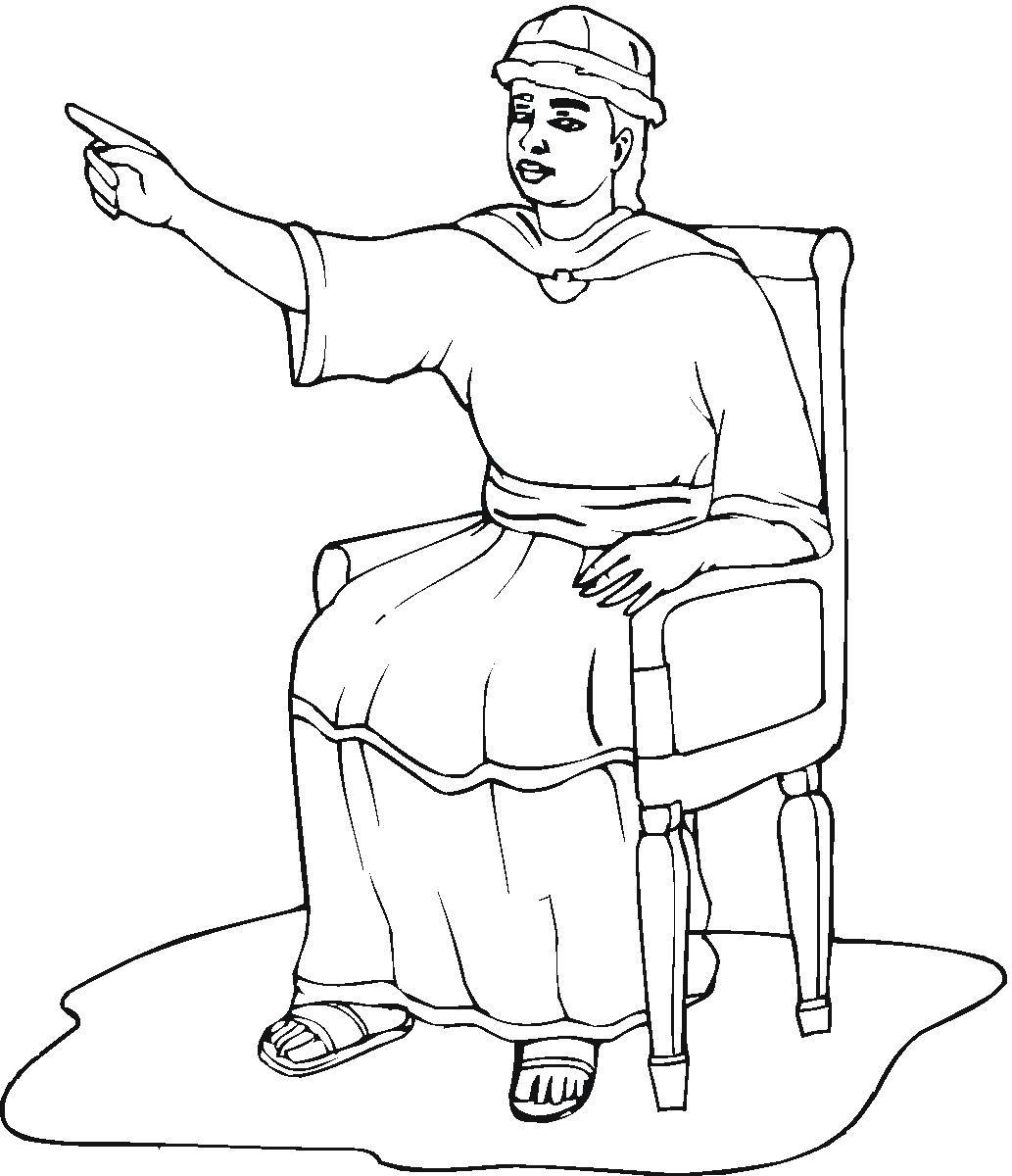 1033x1200 King Saul Coloring Page Solomon Arilitv Com Pages