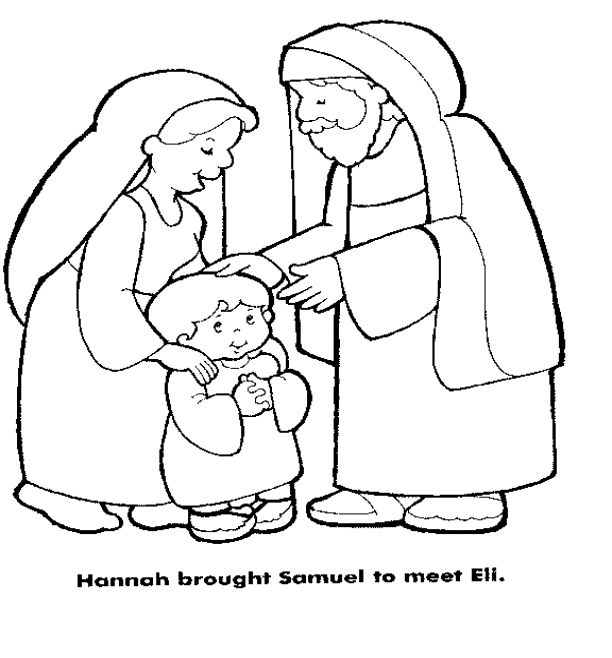 Samuel Coloring Pages From The Bible