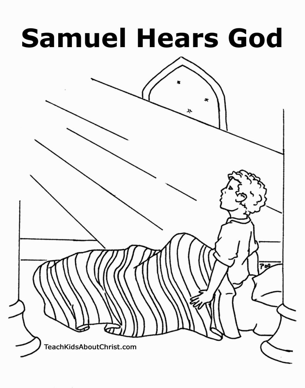 990x1260 Samuel Coloring Page Coloring Pages Sunday School