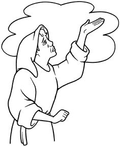 236x290 Bible Coloring Pages Samuel Listens To God Bible Journaling