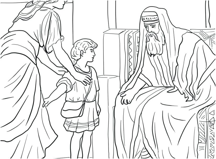 827x609 Samuel Coloring Pages Coloring Trend Medium Size Heard God Calls