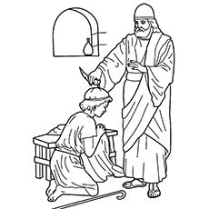 Samuel Coloring Pages From The Bible At Getdrawings Com Free For