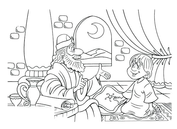 600x436 Samuel Coloring Pages From The Bible Samuel Coloring Pages