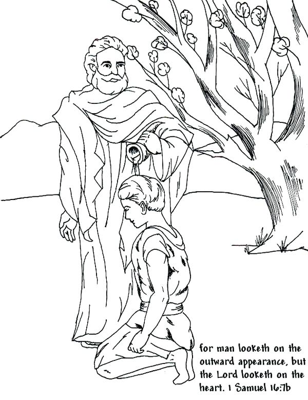 600x778 Bible Coloring Pages Samuel And Eli Page Free Helps Medium Size