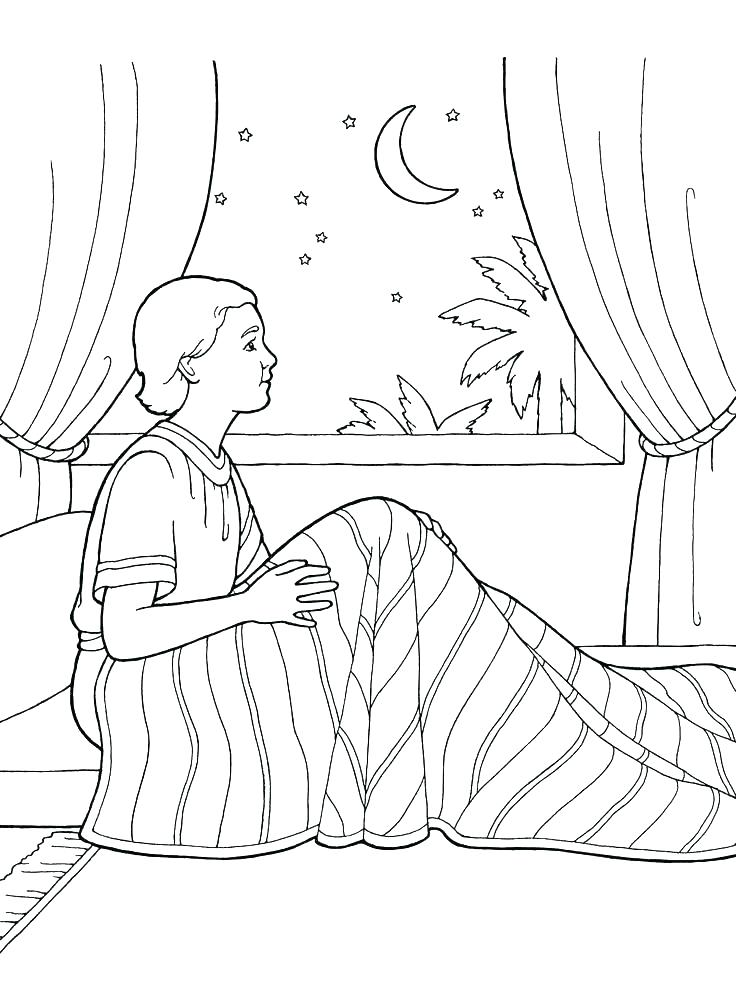 736x981 Coloring Pages Served As A Boy Coloring Page Bible Free Coloring