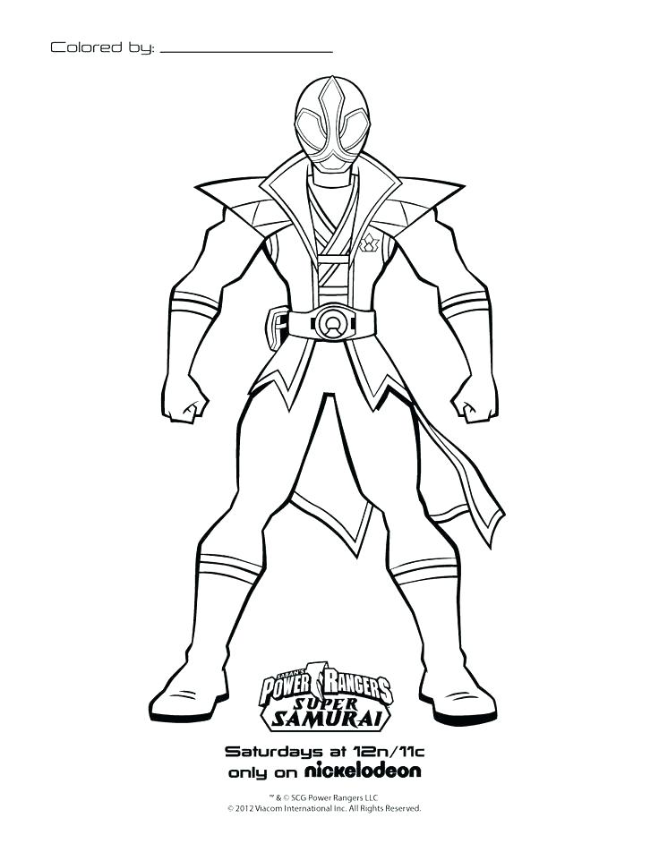 736x952 Samurai Coloring Pages Power Rangers Printable Coloring Pages