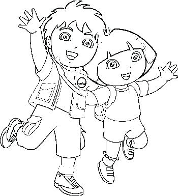 350x385 Diego Coloring Page Go Go Coloring Book Chargers Coloring Sheets