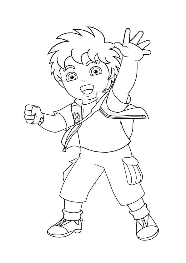 595x842 Diego Coloring Page Good Coloring Pages Online Go Say Hello