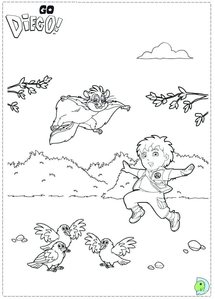 691x960 Diego Coloring Page Picture Of Go Go Coloring Page San Diego