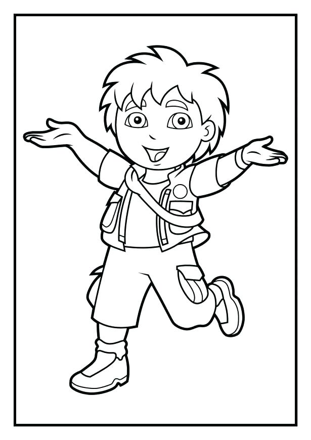 615x870 Diego Coloring Pages And Coloring Pages Coloring Pages Coloring
