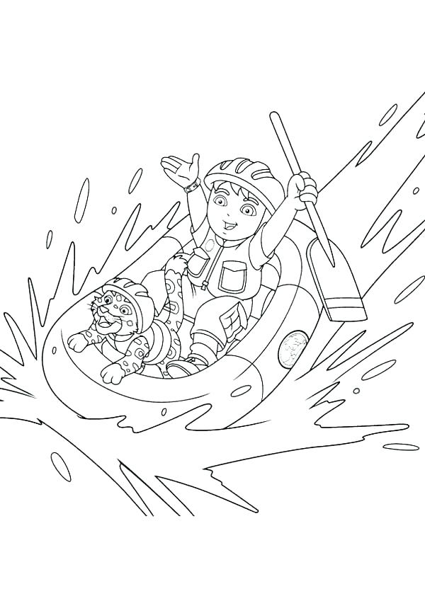 600x849 Go Diego Go Coloring Pages Lemons Coloring Page San Diego Padres