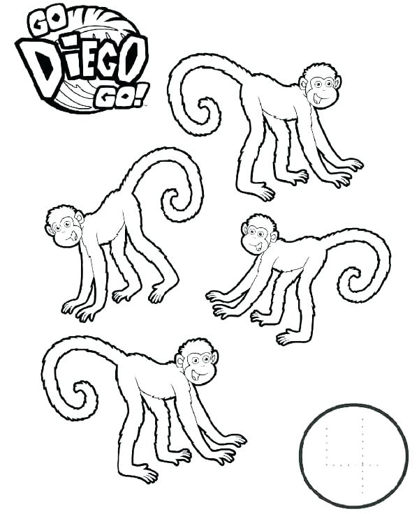 600x737 Diego Coloring Page Click To See Printable Version Of Is Running