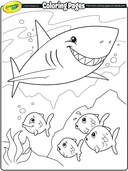 420x560 Shark Printable Coloring Pages Coloring Pages Luxury Simple Shark