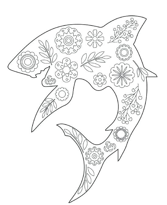 549x675 Sharks Coloring Pages Coloring Pages Shark Great White Shark