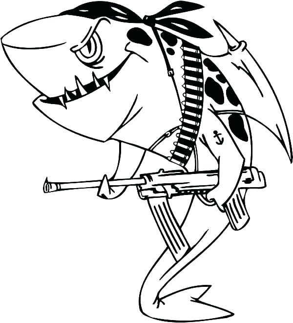600x661 Sharks Coloring Pages Shark Coloring Sheets Shark Tale Printable
