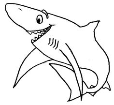236x217 Horrable Shark Jaws Coloring Page Shark Coloring Pages