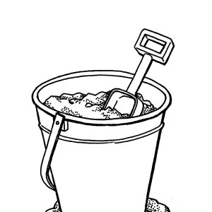 Sand Coloring Pages