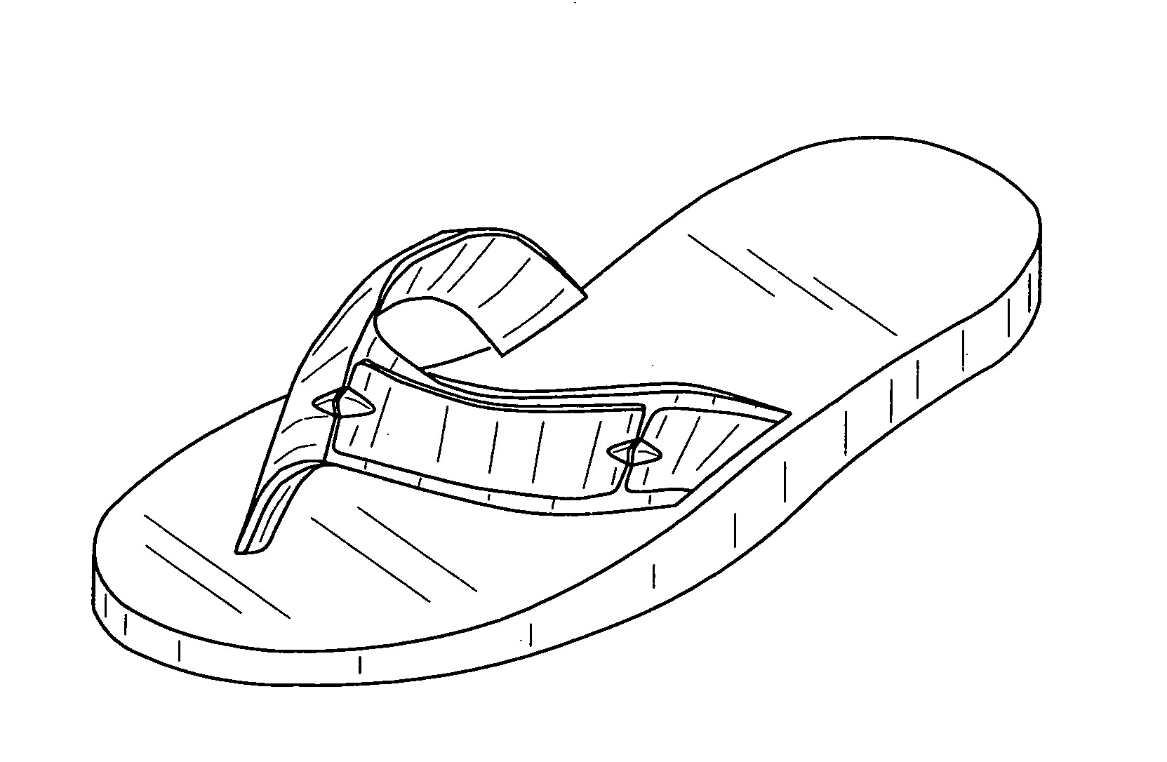 photograph relating to Flip Flop Printable identified as Sandals Coloring Site at  Totally free for unique