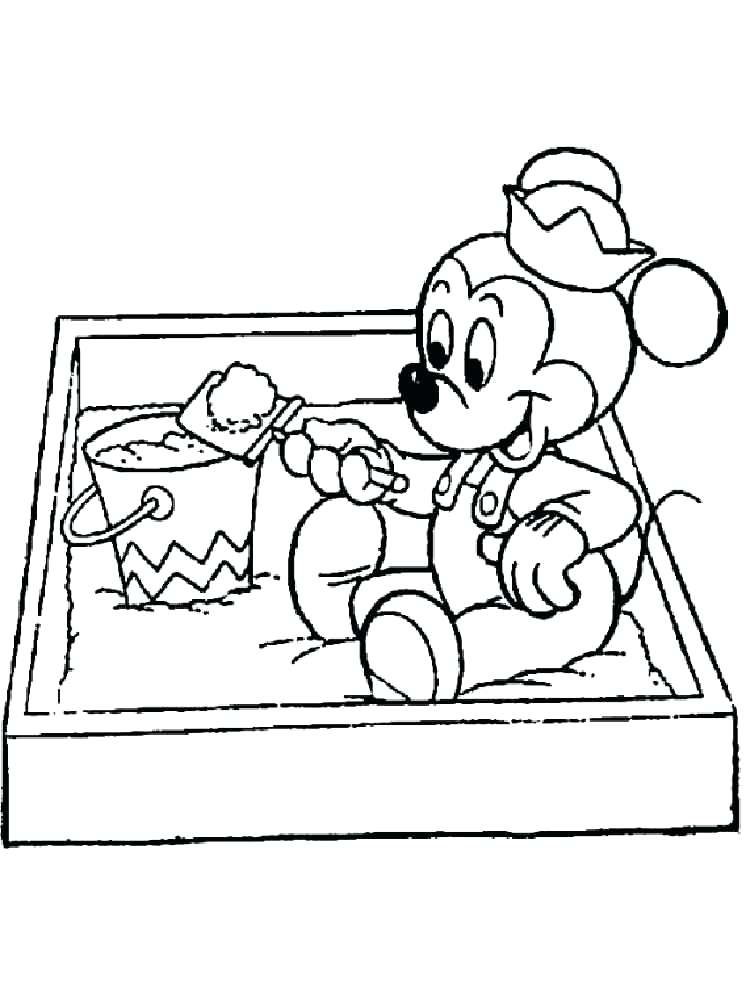 750x1000 Sandbox Coloring Pages Plus Baby Coloring Pages