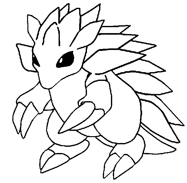 600x586 Coloring Pages Pokemon