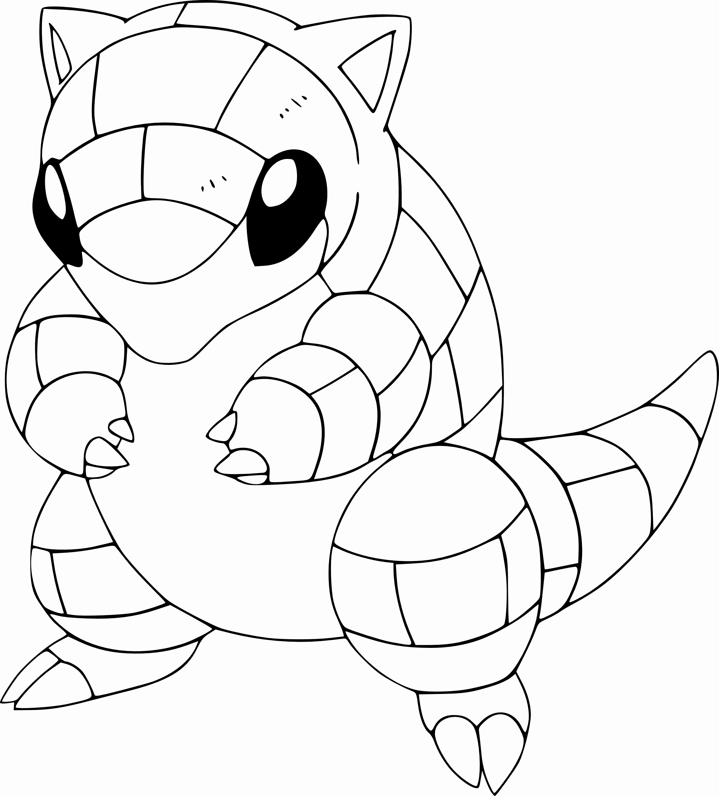 2324x2574 Lovely Gallery Of Squirtle Coloring Page