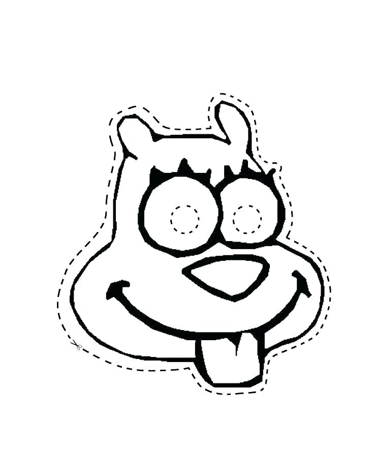 736x883 Plankton Coloring Pages Sandy Cheeks Coloring Pages Plankton