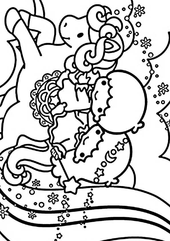 Sanrio Coloring Pages