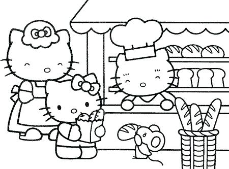 Sanrio Coloring Pages At Getdrawings Free Download