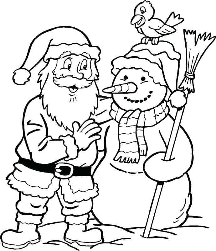 690x800 Santa Printable Coloring Pages Coloring Pages Santa Elves Coloring