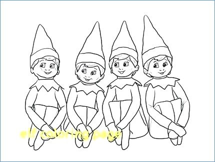 430x325 Stealth Elf Coloring Page
