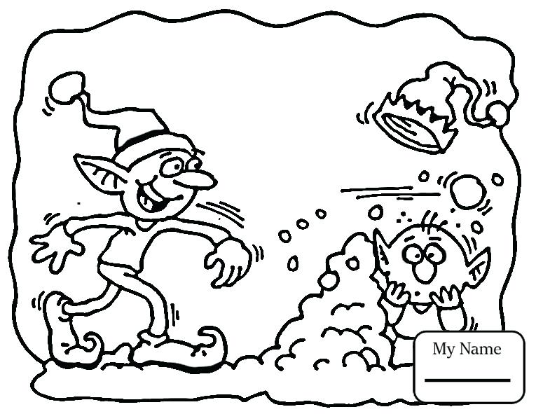 765x591 Santa And Elves Coloring Pages Fuhrer Von
