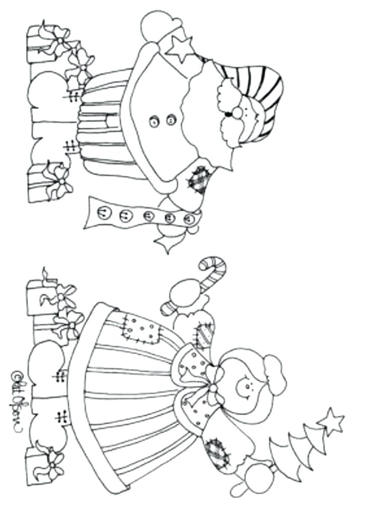 Santa And Mrs Claus Coloring Pages At Getdrawings Com Free